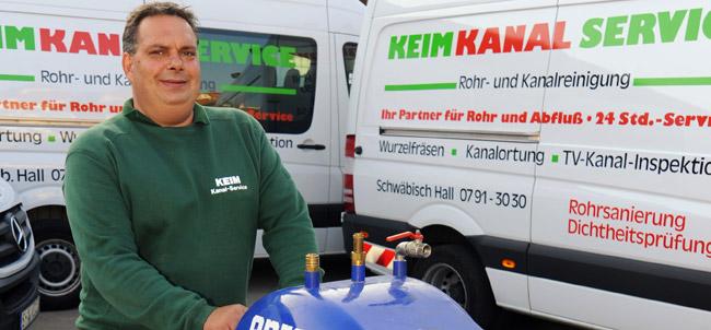 Monteur Herr Krenn
